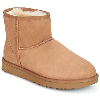 Skor Dam Boots UGG CLASSIC MINI II Kamel