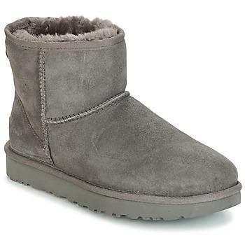 Skor Dam Boots UGG CLASSIC MINI II Grå