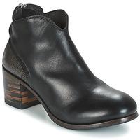 Skor Dam Boots Moma CUSNA NERO/ TALON TACO MIX, ARRIRE AFRICA Svart / Silverfärgad