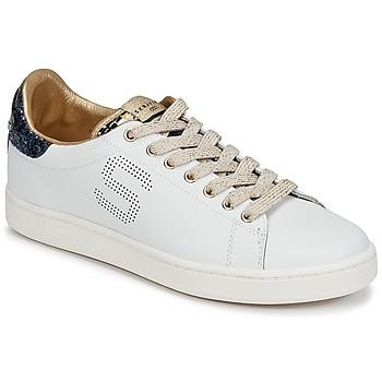 Skor Dam Sneakers Serafini J.CONNORS Vit / Blå / Guldfärgad