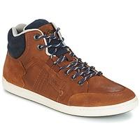 Skor Herr Höga sneakers Kickers CRAFFITI Kamel