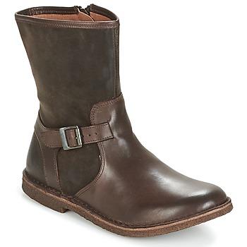 Skor Dam Boots Kickers CREEK Brun / Mörk