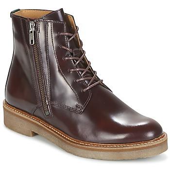 Skor Dam Boots Kickers OXFOTO Bordeaux