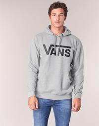 textil Herr Sweatshirts Vans VANS CLASSIC PULLOVER HOODIE Grå