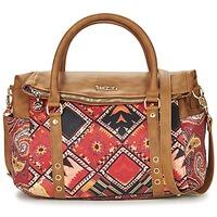 Väskor Dam Handväskor med kort rem Desigual BOLS_LOVERTY  BOHO Kamel / Flerfärgad