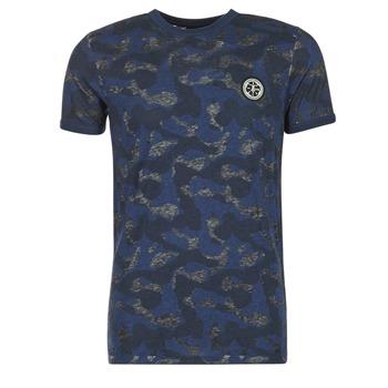 textil Herr T-shirts Le Temps des Cerises CAMOSTORK Marin