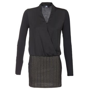 textil Dam Korta klänningar Le Temps des Cerises MALAYA Svart