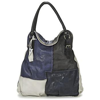 Väskor Dam Handväskor med kort rem Airstep / A.S.98 LOUZI Blå / Svart