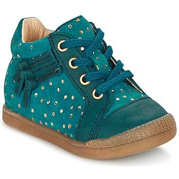 Skor Flick Höga sneakers Babybotte FALSIFI Turkos / Guldfärgad