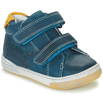 Skor Pojk Höga sneakers Babybotte ANTILLES Blå