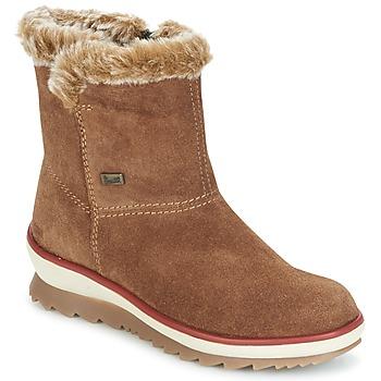 Skor Dam Boots Rieker BATIA Kamel