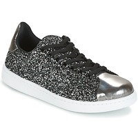 Skor Dam Sneakers Yurban HELVINE Grå / Glitter