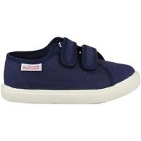 Skor Barn Sneakers Vulladi PIQUE AZUL