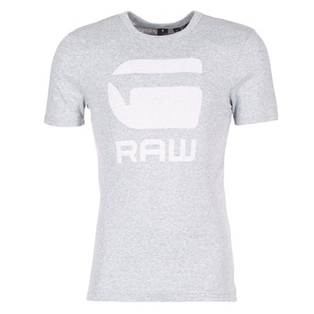 textil Herr T-shirts G-Star Raw DRILLON Grå
