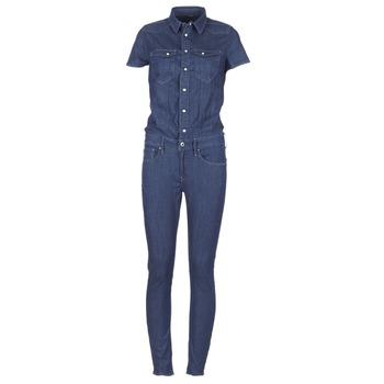 textil Dam Uniform G-Star Raw TACOMA SLIM JUMPSUIT WMN SS