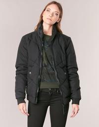 textil Dam Vindjackor G-Star Raw STRETT CHEVRON JKT Svart
