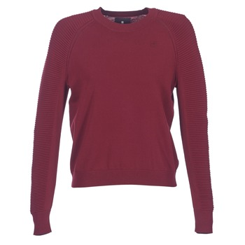 textil Dam Tröjor G-Star Raw SUZAKI KNIT Bordeaux