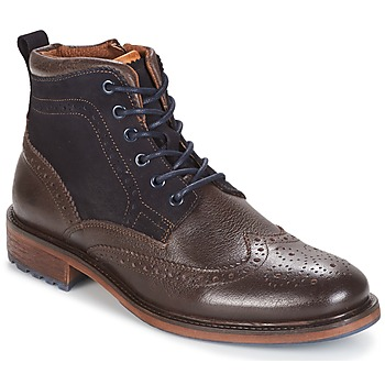 Skor Herr Boots Coxx Borba RESERVA Brun / Marin