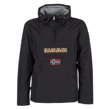 textil Herr Parkas Napapijri RAINFOREST Svart