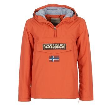 textil Herr Parkas Napapijri RAINFOREST Orange
