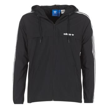 textil Herr Vår/höstjackor adidas Originals 3 STRIPED WB Svart