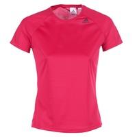 textil Dam T-shirts adidas Performance D2M TEE LOSE Rosa