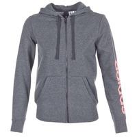 textil Dam Sweatshirts adidas Performance ESS LIN FZ HD Grå
