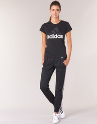 textil Dam Joggingbyxor adidas Originals ESS 3S PANT CH Svart