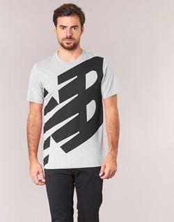 textil Herr T-shirts New Balance NB ESSENTIEL T Grå