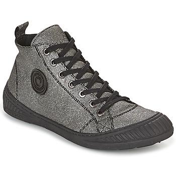 Skor Dam Höga sneakers Pataugas ROCKER Silverfärgad