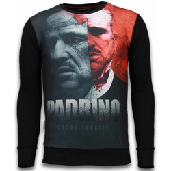 textil Herr Sweatshirts Local Fanatic El Padrino Two Faced Svart
