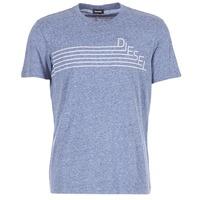 textil Herr T-shirts Diesel JOE QF Marin