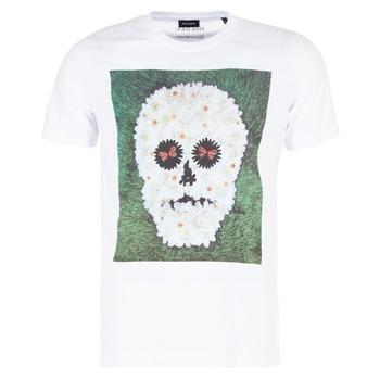 textil Herr T-shirts Diesel JOE QM Vit