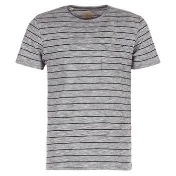 textil Herr T-shirts Selected FINN Grå / Svart