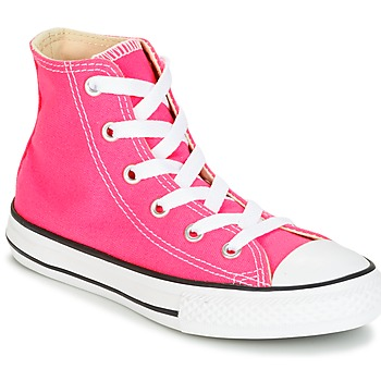 Skor Flick Höga sneakers Converse CHUCK TAYLOR ALL STAR SEASONAL HI PINK POW Rosa