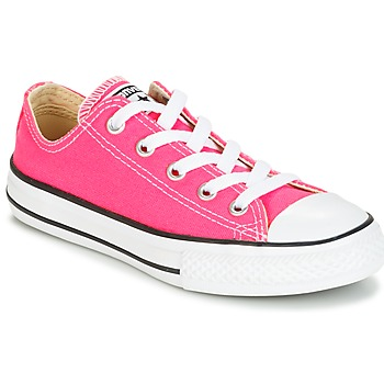 Skor Flick Sneakers Converse CHUCK TAYLOR ALL STAR SEASONAL OX PINK POW Rosa