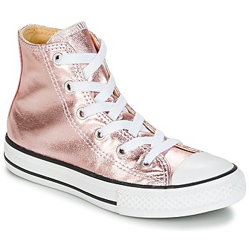 Skor Flick Höga sneakers Converse CHUCK TAYLOR ALL STAR METALLIC SEASONAL HI METALLIC SEASONAL HI Rosa / Vit / Svart