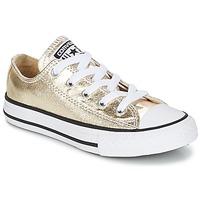 Skor Flick Sneakers Converse CHUCK TAYLOR ALL STAR Guldfärgad / Vit / Svart