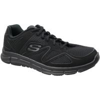 Skor Herr Sneakers Skechers Satisfaction 58350-BBK