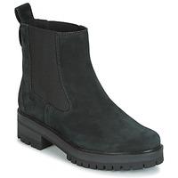 Skor Dam Boots Timberland COURMAYER VALLEY CHELSEA Svart