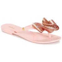 Skor Dam Flip-flops Melissa HARMONIC TARTAN AD Rosa