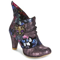Skor Dam Boots Irregular Choice MIAOW Violett