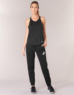 textil Dam Joggingbyxor Nike RALLY PANT Svart / Vit