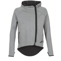 textil Dam Sweatshirts Nike TECH FLEECE CAPE FZ Grå