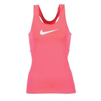 textil Dam Linnen / Ärmlösa T-shirts Nike NIKE PRO COOL TANK Rosa / Vit