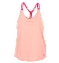 textil Dam Linnen / Ärmlösa T-shirts Nike NIKE DRY TANK ELASTIKA Rosa / Röd
