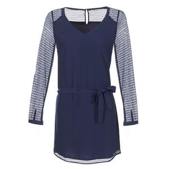 textil Dam Korta klänningar Les P'tites Bombes MALIS Marin