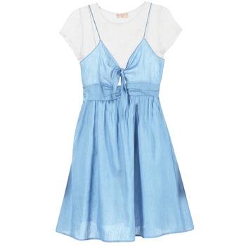 textil Dam Korta klänningar Moony Mood GLAM Blå