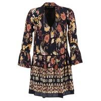 textil Dam Korta klänningar Derhy DEGUSTATION Svart / Flerfärgad