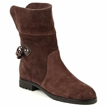 Skor Dam Boots Marc Jacobs CHAIN BOOTS Brun